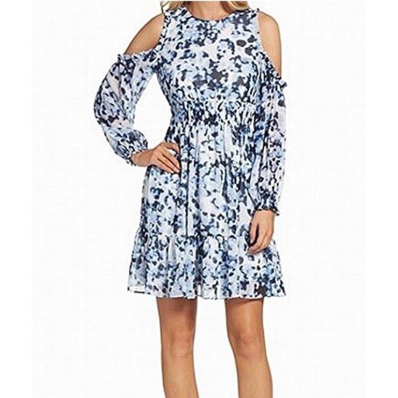 Eliza J Dresses & Skirts - Eliza J cold shoulder dress